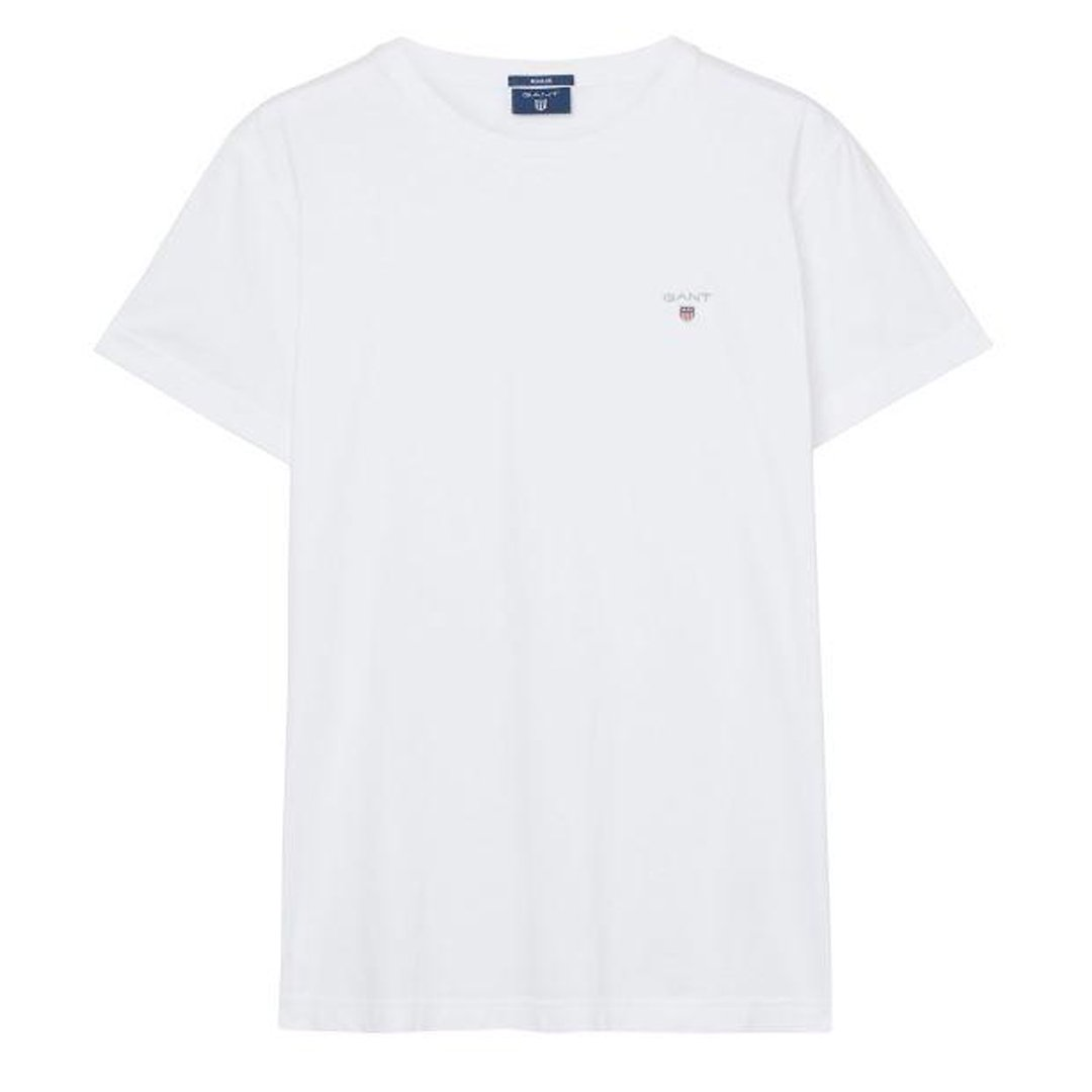 Gant The Original SS T-Shirt in White