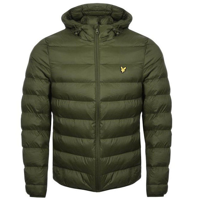 Lyle & Scott Lightweight Puffer Jacket in Green