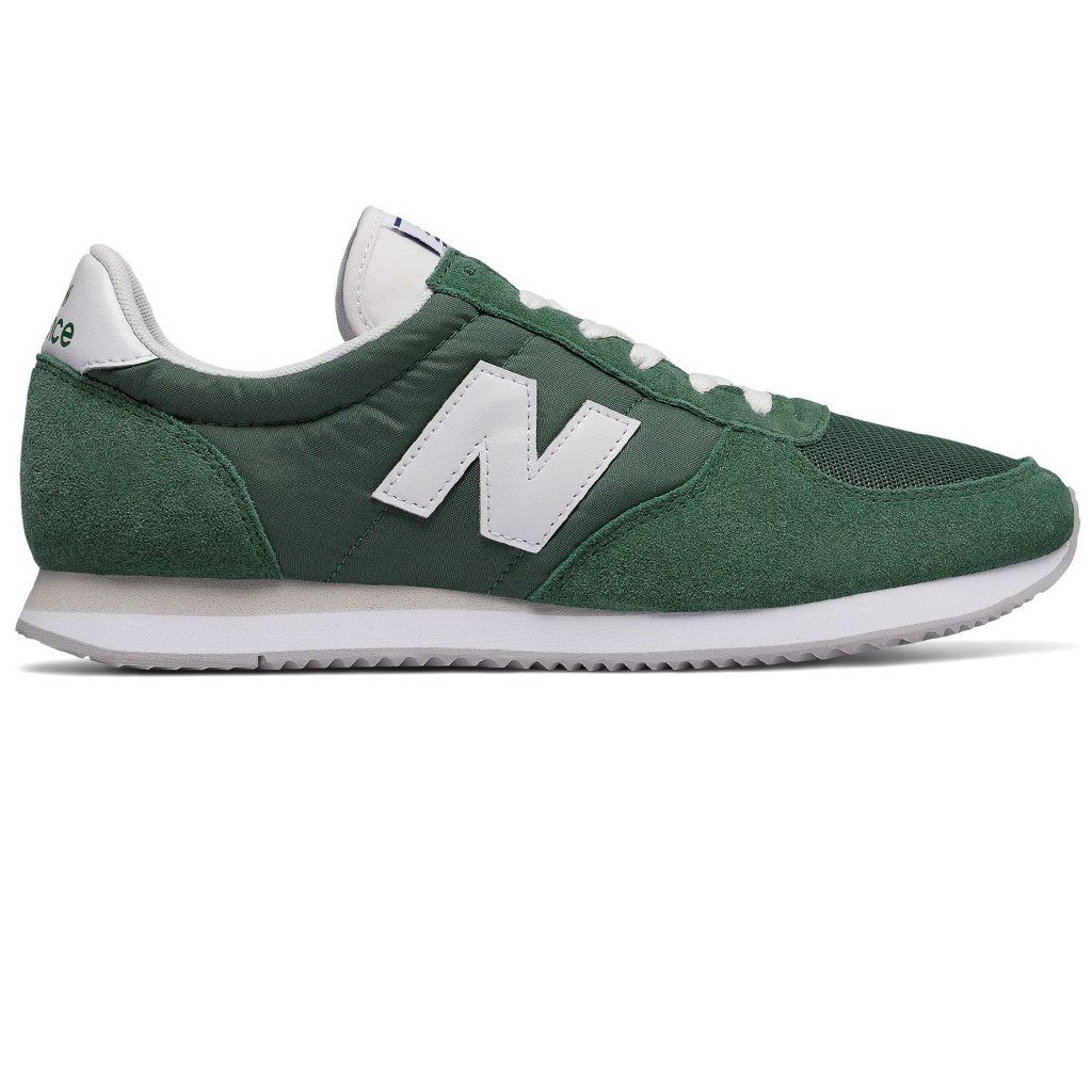 New Balance U220-CG in Forest Green / White
