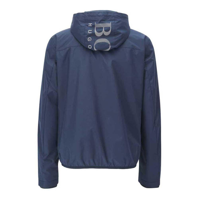 BOSS Athleisure Jeltech Water Repellent Jacket in Navy