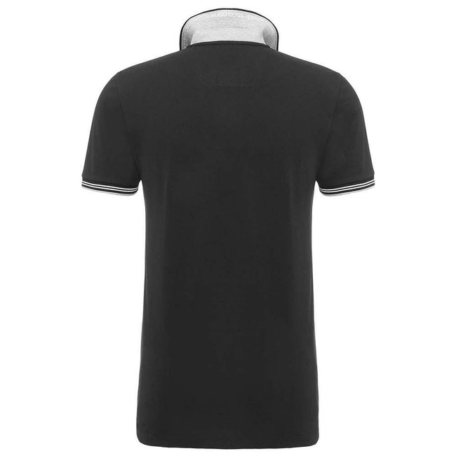 BOSS Athleisure Paul Slim Fit Polo Shirt in Black