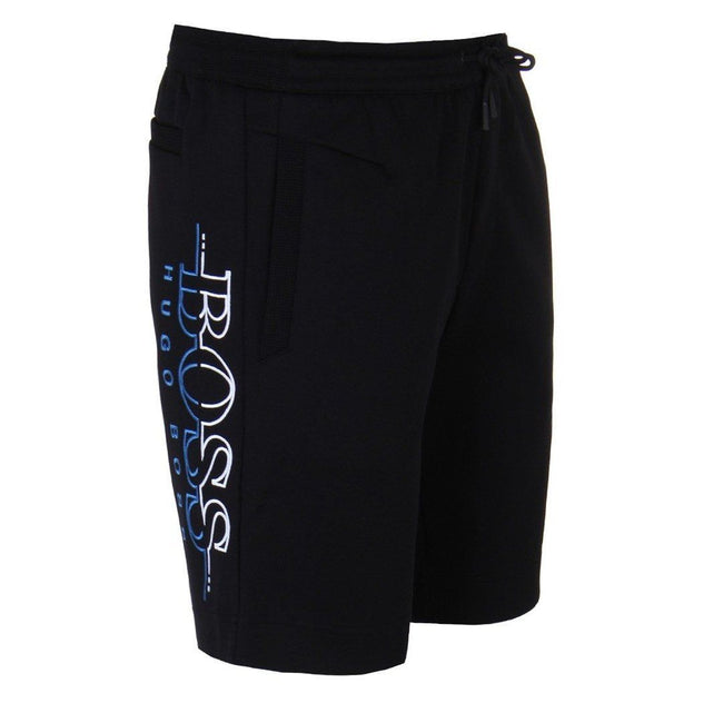 BOSS Athleisure Headlo Sweat Shorts in Black