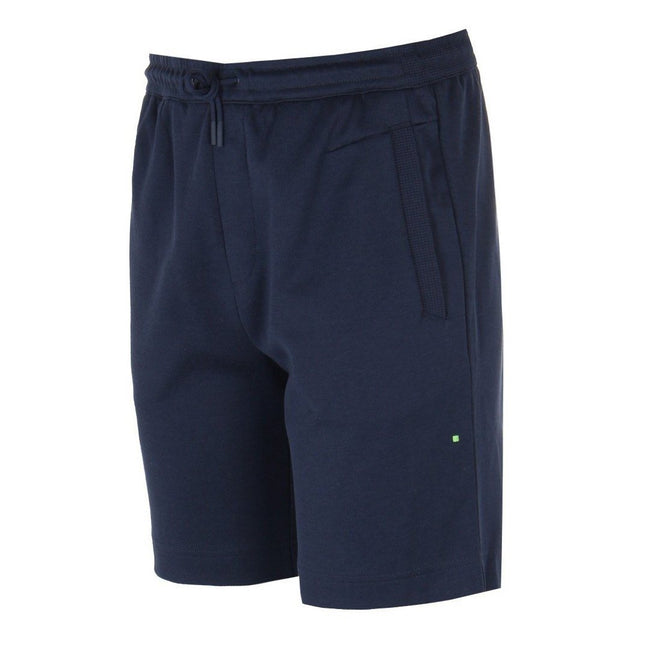 BOSS Athleisure Headlo Sweat Shorts in Navy Blue Shorts BOSS