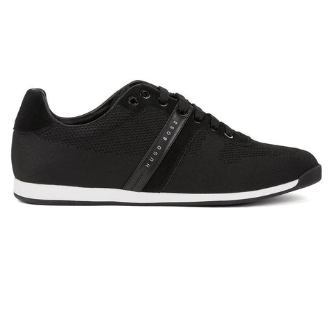 BOSS Athleisure Maze Lowp Knit-2 Trainers in Black Trainers BOSS