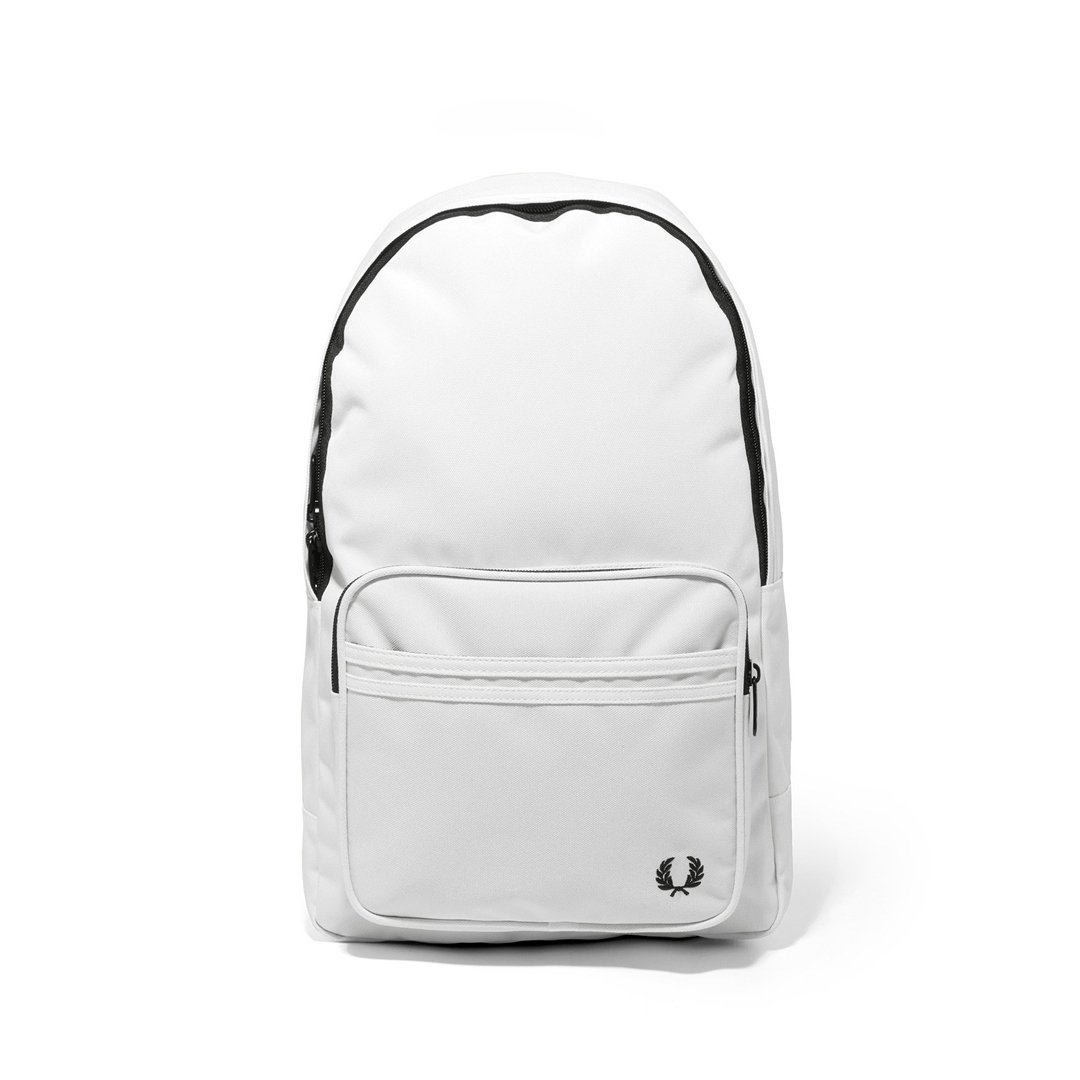 Fred Perry L2201 Twin Tipped Rucksack in Snow White