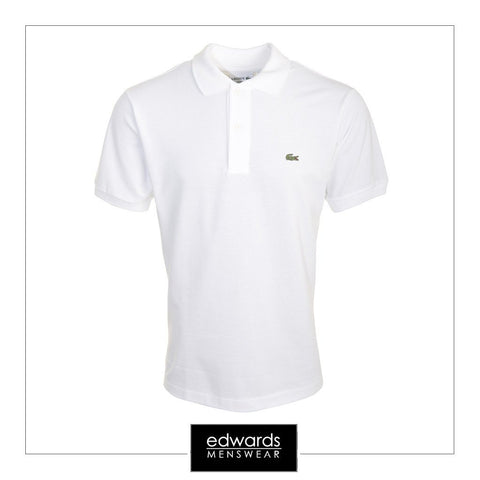 Lacoste Polo Shirt L1212-001 in White