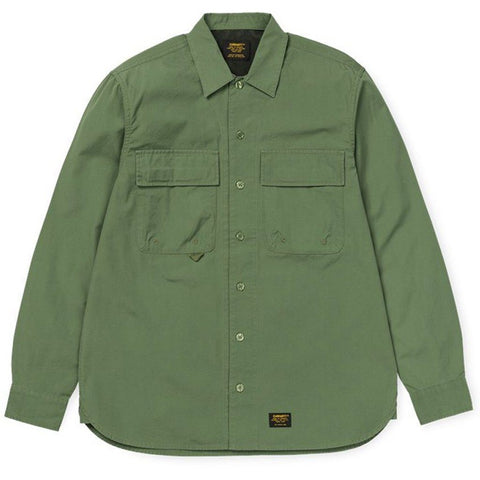 Carhartt Laxford Shirt in Dollar Green Shirts Carhartt