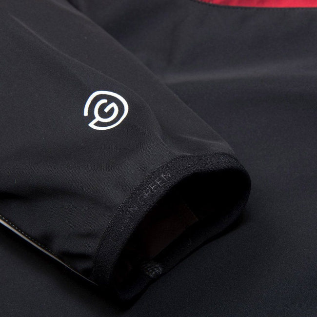 Galvin Green Lennox Interface-1 Half Zip Windstopper in Black / Red / Snow Coats & Jackets Galvin Green
