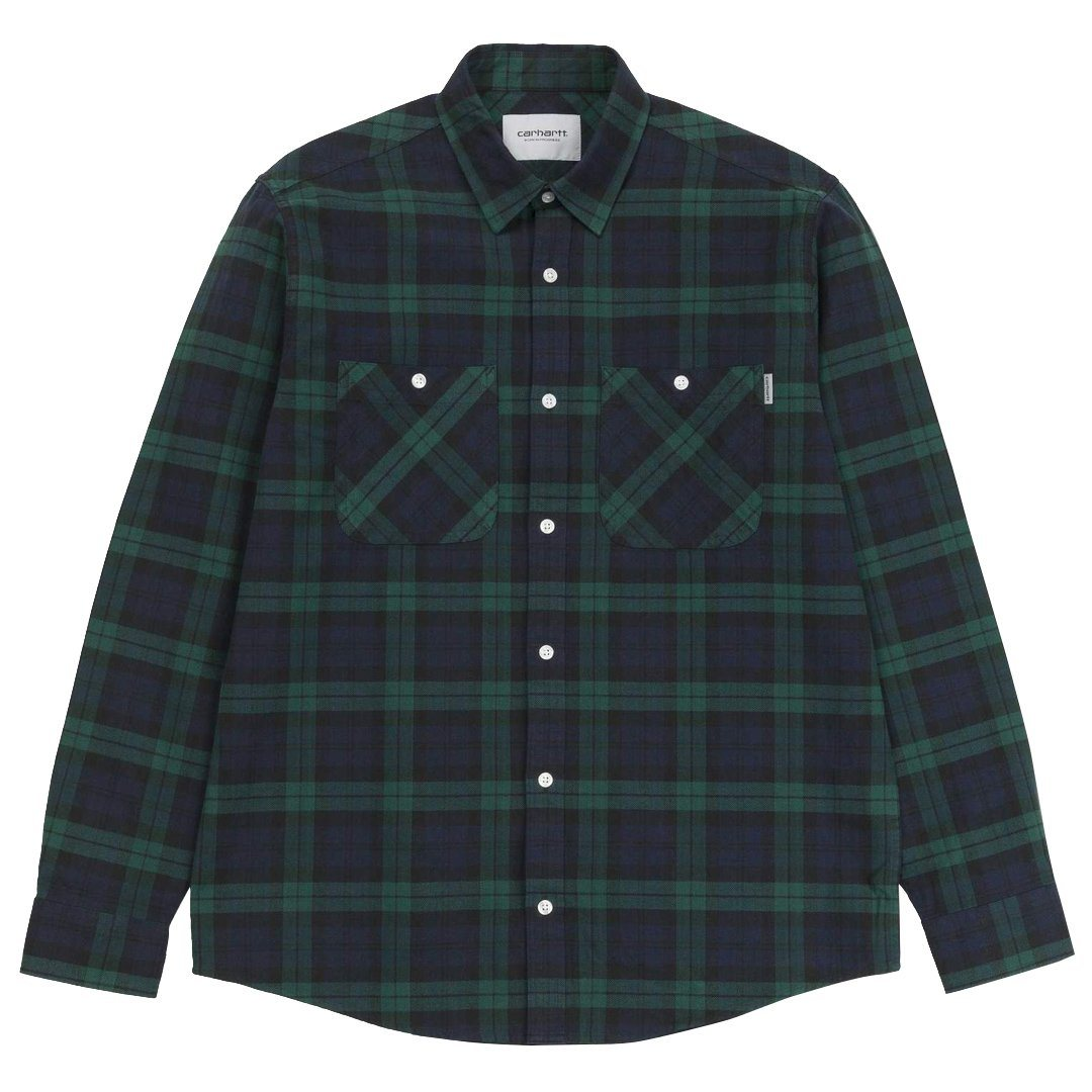 Carhartt Sloman Check Shirt in Colony / Hedge