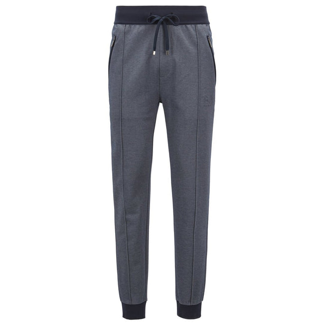 BOSS Bodywear Loungewear Slim Fit Trouser in Navy