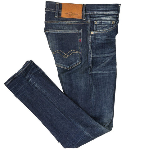 Skinny Fit Jondrill Jeans Aged 1 Year in Dark Blue Jeans Replay