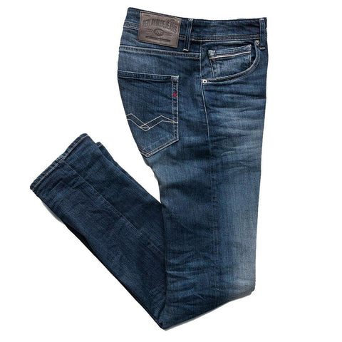 Grover Tapered Fit Jeans in Dark Blue Jeans Replay