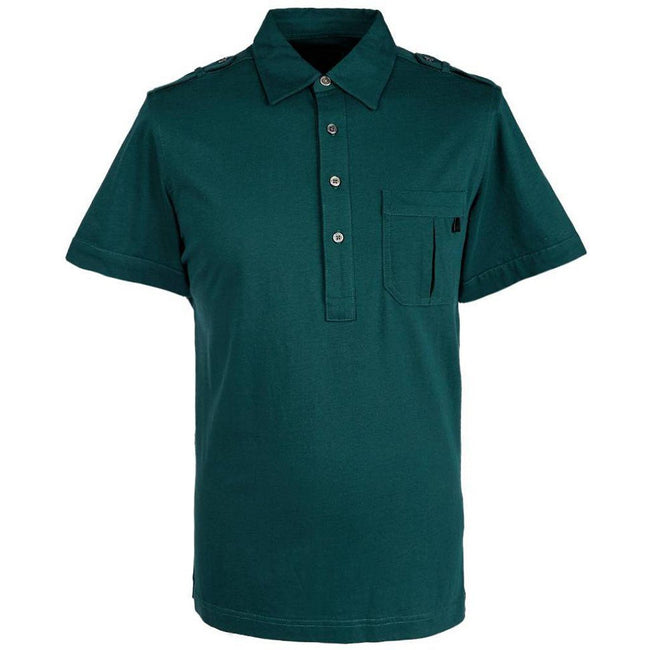 Pretty Green Mercerised Polo Shirt in Green