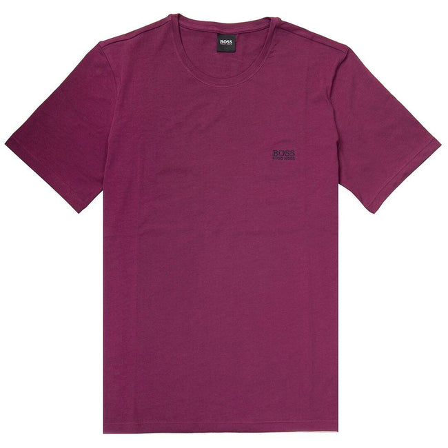 BOSS Bodywear 'Mix & Match' Tee Shirt in Dark Purple T-Shirts BOSS