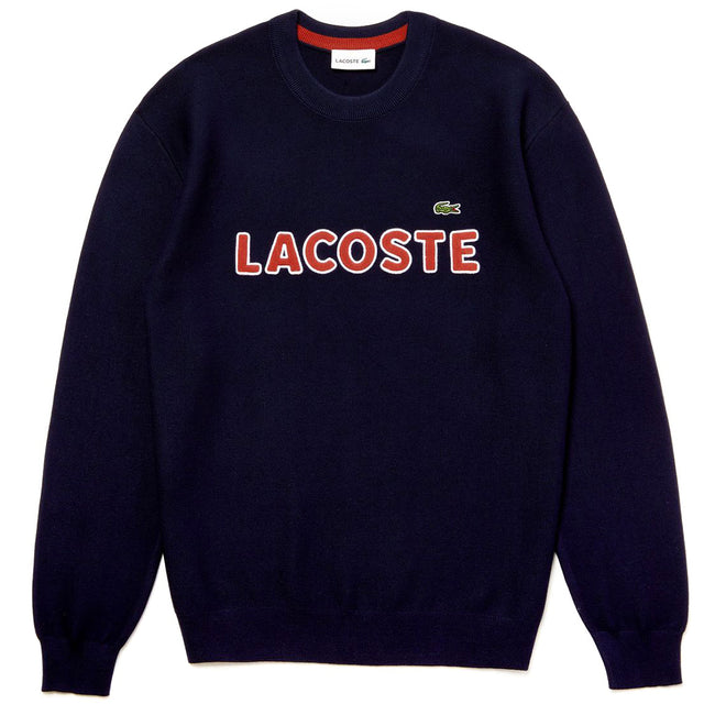 Lacoste AH3390-883 Sweatshirt in Navy