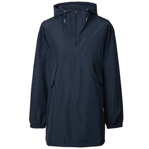 Pretty Green Overhead Seam Sealed Hooded Jacket in Navy Coats & Jackets Pretty Green