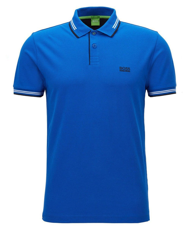 BOSS Paul Polo Shirt in Bright Blue