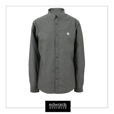 Pretty Green Oldbury Shirt in Black