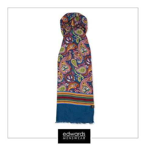 Pretty Green Vintage Paisley Scarf