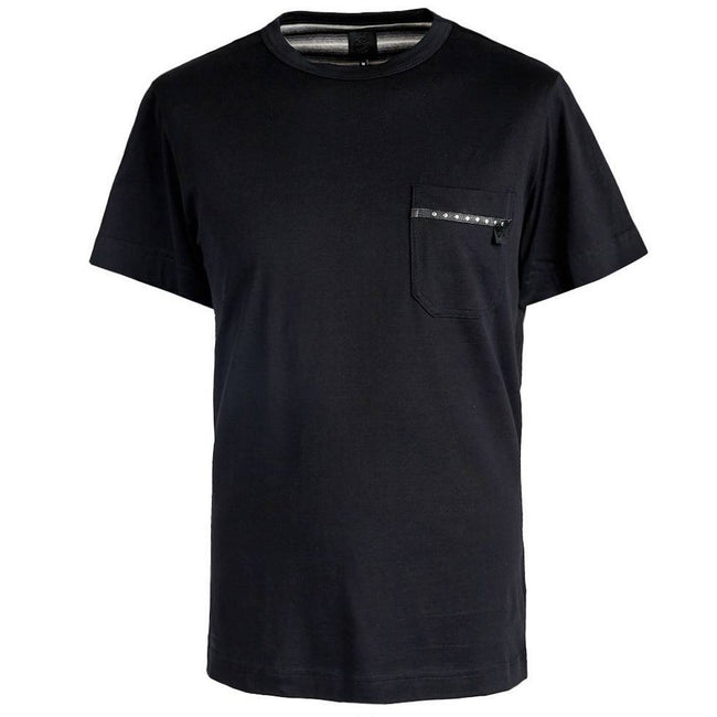 Pretty Green Pocket T-shirt in Black