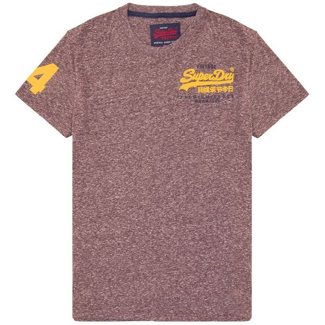 Superdry Premium Goods Duo Essential T-Shirt in Fig Snowy