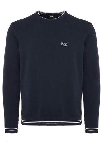 Gant Original Crew Neck Sweater in Dark Antracit Melange
