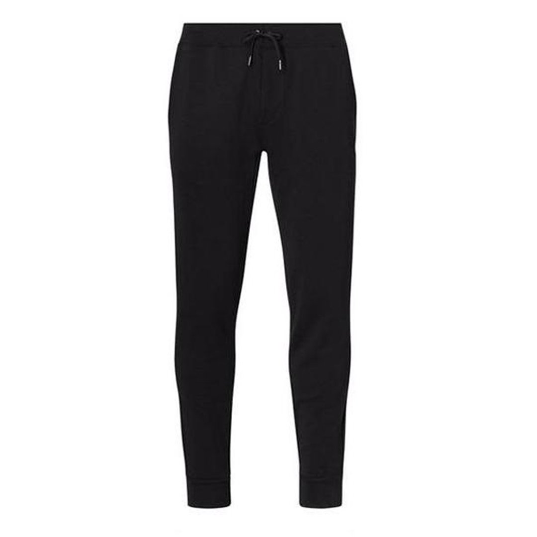 Ralph Lauren Double-Knit Jogger in Polo Black