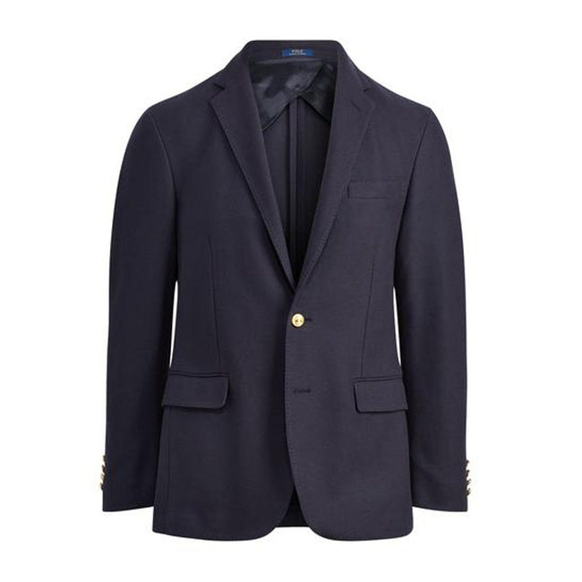 Ralph Lauren Morgan Knit Mesh Blazer Jacket in Blue