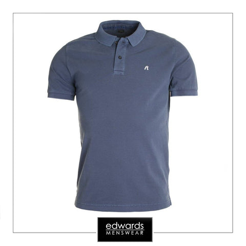 Replay Polo Shirt in Navy