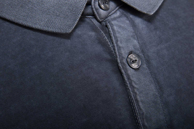 Replay  LS Polo Shirt in Navy