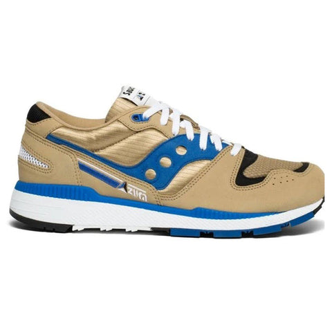Original Azura Trainers in Tan/ Blue Trainers Saucony