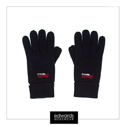 Superdry Orange Label Gloves in Navy