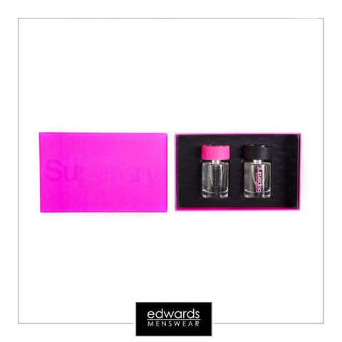 Ladies Superdry Day and Night 2 Pack Perfume in Pink Box