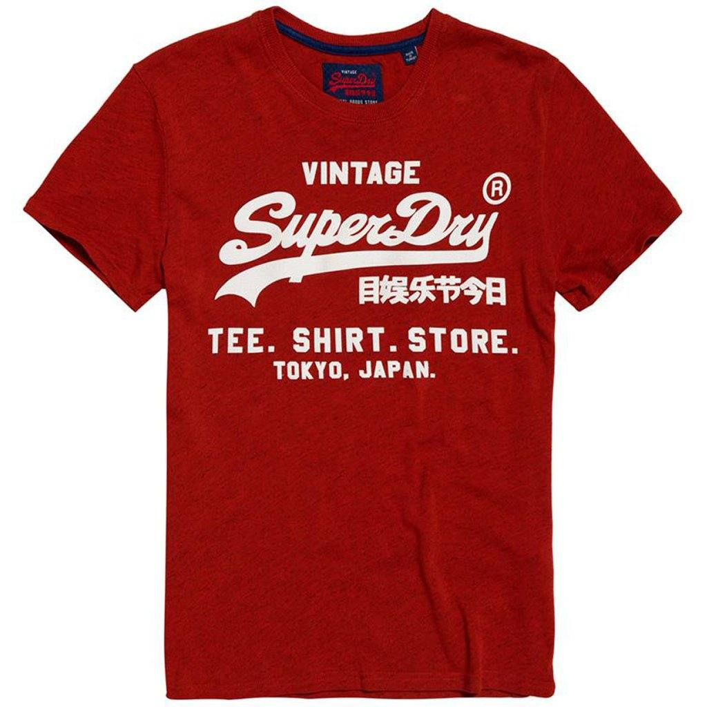 Superdry Shirt Shop Tee in Arazona Orange