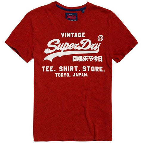 Superdry Shirt Shop Tee in Arazona Orange T-Shirts Superdry