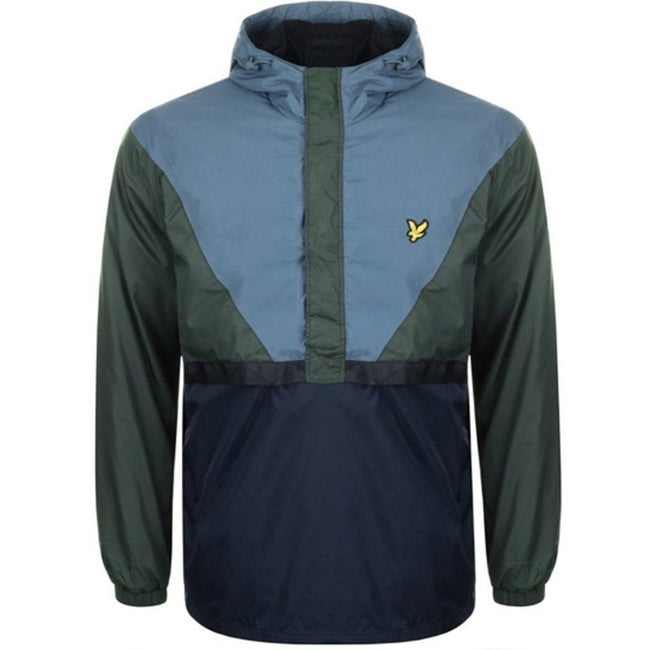 Lyle & Scott Showerproof Jacket in Leaf Green