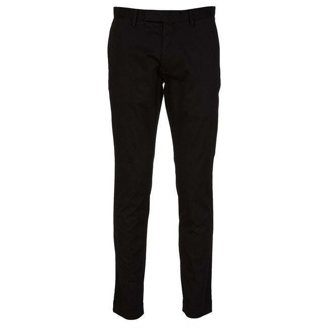Ralph Lauren Slim Fit Chino Trouser in Black