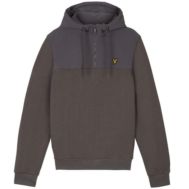 Lyle & Scott Soft Shell 1/4 Zip in Urban Grey