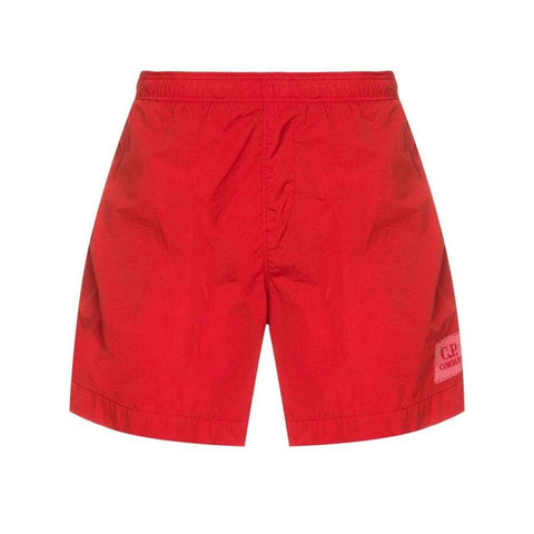 Chrome Swim Shorts in Red Shorts CP Company