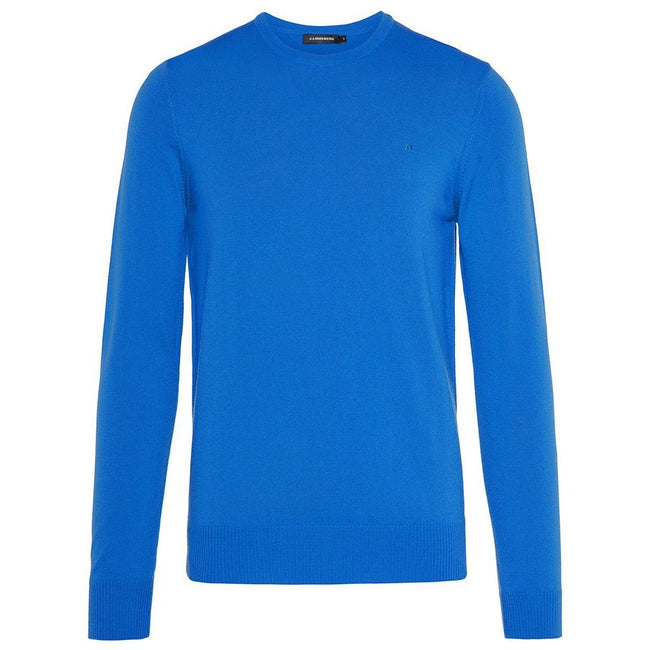 J. Lindeberg Lyle True Merino Sweater in Pop Blue
