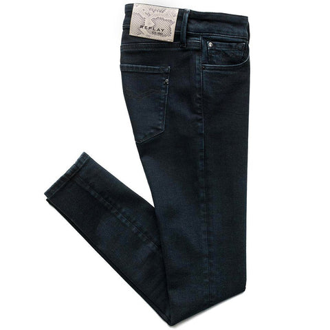 Luz Skinny Jeans in Black Women's Jeans Replay Women's