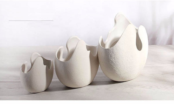 Vase Coquille Ornemental