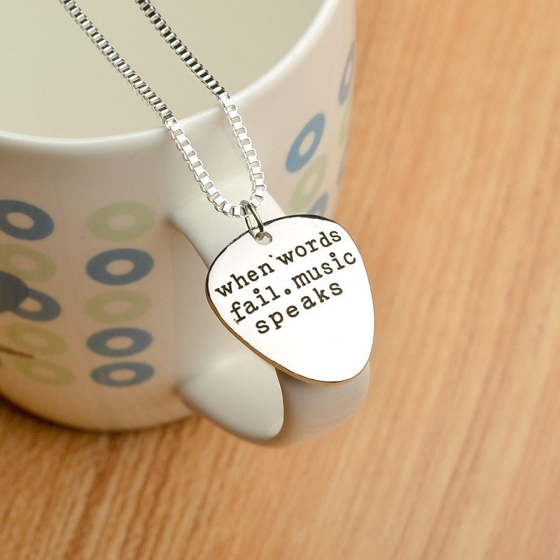 Music Speaks Necklace
