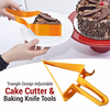 Adjustable Triangle Cake Cutter