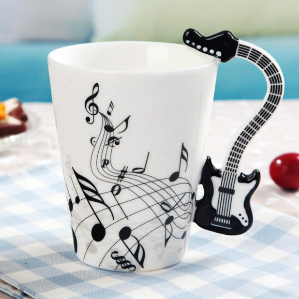 Creative Guitar Mug (400ml)
