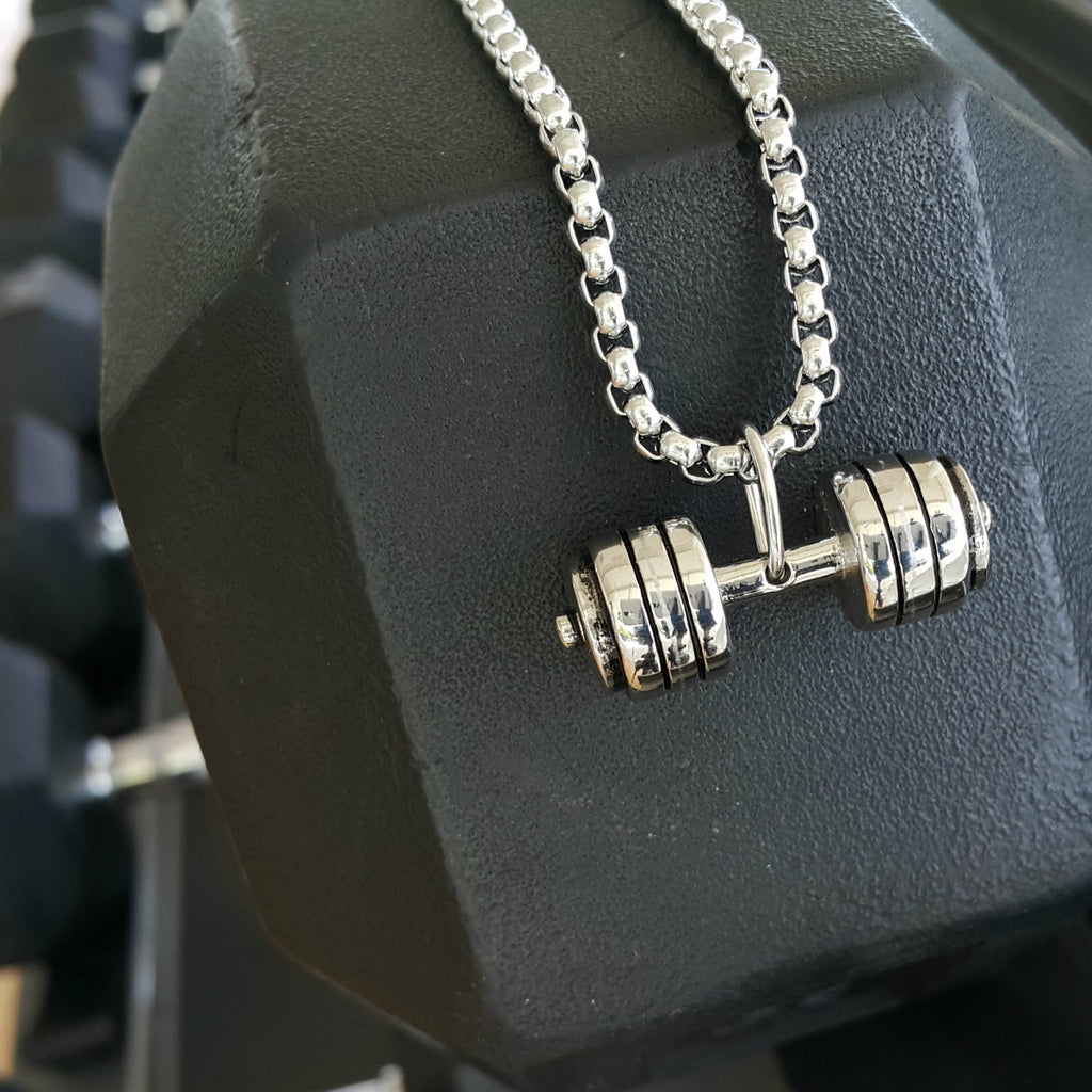 Hardcore Gym Necklace - A Perfect Fitness Gifts for Her or Him