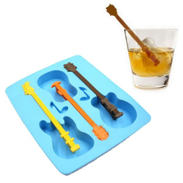 Creative Guitar 3D Ice Mold