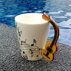 Lively Acoustic Guitar Mug