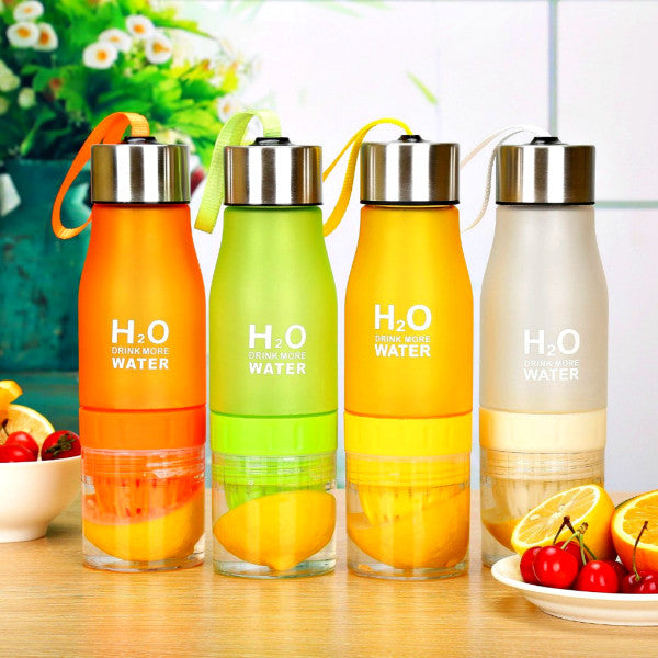 H2O Fruit Infuser Water Bottle