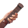 Brown Portable Pocket Guitar